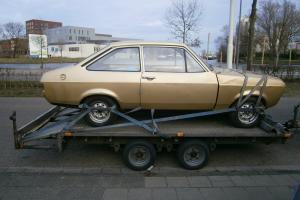 Ford Escort Mk2 (2 door, LHD) 1.3 Auto, Big Tunnel, good base for group 4