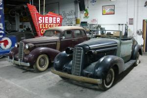 1936 LASALLE CONVERTIBLE AND SEDAN RARE CAR CADILLAC ROADSTER !!!!!!!!!!!!!!!!!!