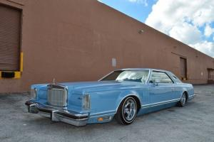 1978 Lincoln Continental Mark V Cartier Edition 14k og miles Lowrider