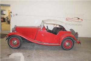 1953 MG TD Convertible Photo