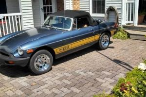 1977 MGB Super Nice Photo