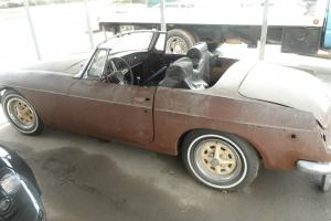 1972 MGB Project Car Photo