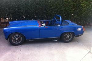 MG Midget Race Car Photo