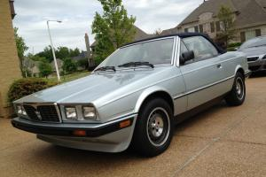 Maserati Spyder Convertible Biturbo 1986 Original LOW MILEAGE SURVIVOR RARE car