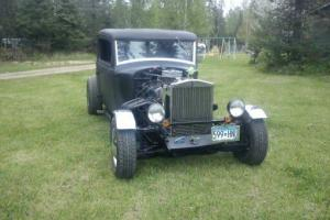 1932 plymouth busines coup rat rod