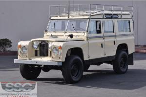 This 1966 Land Rover Series 2A/Defenderfour door 4x4 wagon Photo