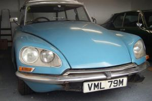 1974 (M) CITROEN DS 23 SAFARI ESTATE MOT