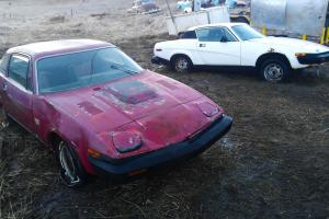 1976 Triumph TR7 + 1977 TR7 Parts Car - NO RESERVE