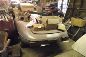 Jaguar E Type series 2 Roadster 1969 Restoration project Barnfind
