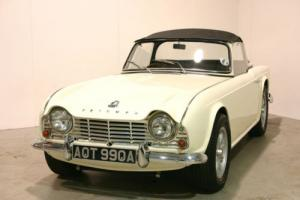 1963 Triumph TR4 - Old English White & Black Interior - Superb Condition