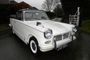 1966 Triumph Herald 1200 Convertable Photo