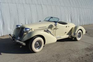 1936 AUBURN SPEEDSTER REPLICA . SUPERCHARGED CHEVY 350.  TEXAS