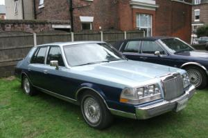 1985 LINCOLN CONTINENTAL BLUE 35OOO MILES Photo