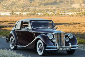 1950 Jaguar Mark V Drophead Coupe: Striking, Well Sorted, Numbers Matching MK V