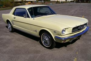 1966 Ford Mustang V8 One Owner, Original Factory Paint