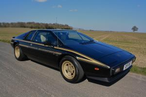 Lotus Esprit JPS Commemorative No.22, 1979. Last owner since 1985.  Photo