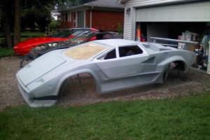 Lamborghini Countach kit car and Fiero donor. Brand new