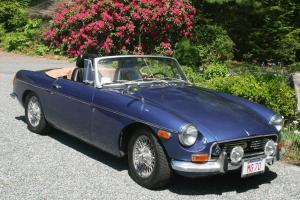 MGB 1970 Rare Split Rear Bumper Convertable----Totally Restored