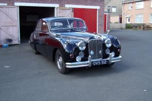 MK7 M Jaguar 1955 in Original Condition Black Classic Car MKVIIM - MKVII Mar