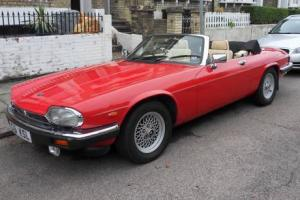 1991 JAGUAR V12 XJS CONVERTIBLE, 72,000 miles,  Photo