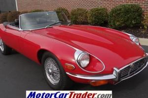 1972 Jaguar E-type Series III V12 Roadster, Restored, Rare 4-speed, Great Car!