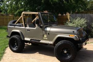 1988 Jeep Wrangler Owned by Carroll Shelby