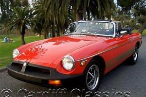 1979 MGB-ORIGINAL CALIFORNIA CAR W/BOOKS/RECORDS-42k ORIGINAL MILES! *PRISTINE*