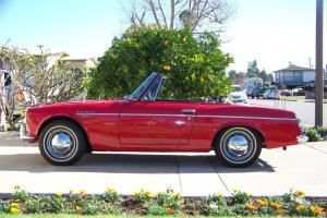 1969 Datsun Fairlady SR311 Roadster Z 1966 1967 1968 240 restored mg convertible