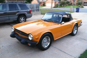 1975 TR6 roadster