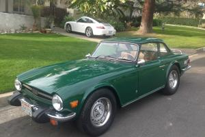 1976 Triumph TR6 California Car