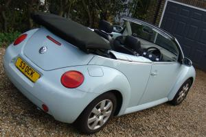 2003 VW BEETLE 2.0 Cabrio Convertable 1owner from new FSH 45,000mls Immaculate