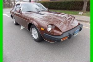 79 DATSUN 280ZX/ ORIGINAL MILES AND LOADED MODEL/I COLD AIR/8 TRACK PLAYER/NEW !