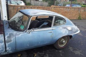 Jaguar E Type 2+2 1968, Left Hand Drive. Needing total restoration.