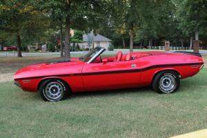 1970 Dodge Challenger R/T Tribute Convertible