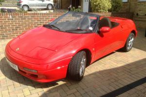 1990 LOTUS ELAN SE TURBO RED