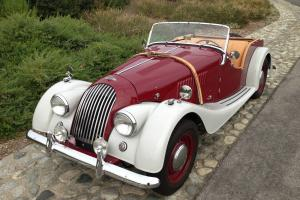 1957 MORGAN PLUS 4. Two-Seater. Beautiful Restoration on CA car. Exceptional Photo