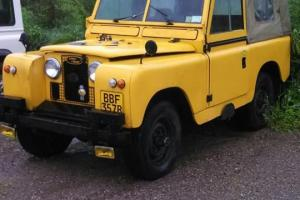 "1963 Series IIa 88"" Land Rover 2.25p LHD Overdrive Warn Freewheel Hubs Project"