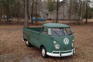 1966 single cab truck splitty split window