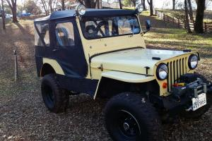 1948 Willys CJ-2A WITH TRAILER ...reg'd. OVERDRIVE- Full Top Trailer avail. too.