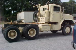 1986 M931 M 931AMERICAN GENERAL 5 TON 6 X 6 TRACTOR TRUCK WITH 5 TH WHEEL