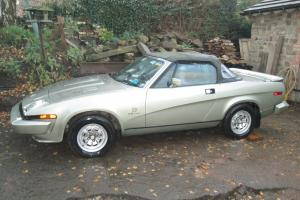 TR8 Factory Original - Convertible - Classic Car - Triumph - TR7 - Project- Rare Photo