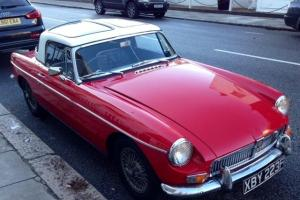 MGB Roadster 1968 Red, Hard Top, Soft Top, Tonneau