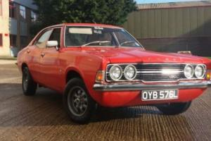 Ford Cortina mk3 1972 gxl front twin lights 2ltr pinto 5 speed manual efi Photo