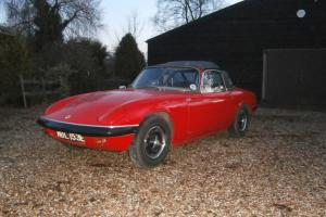 LOTUS ELAN S3 SE DHC 1967 REQUIRES TIDYING  Photo
