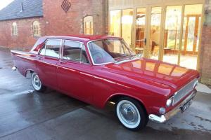 1963 FORD ZEPHYR V4 RED