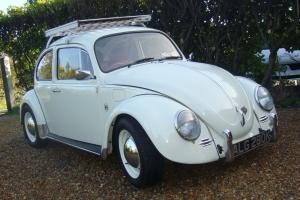 1971 VW Beetle 1200, Pastel White 1300cc