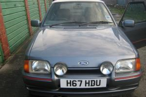 1990 FORD ESCORT XR3 INJ GREY