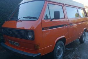 VW T25 Transporter Devon Camper Photo