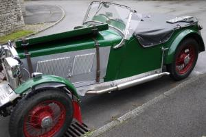 1933 Wolseley Hornet Sports Project Photo