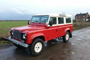 1984 Land Rover 110 County Station Wagon. Very Original, Huge History File